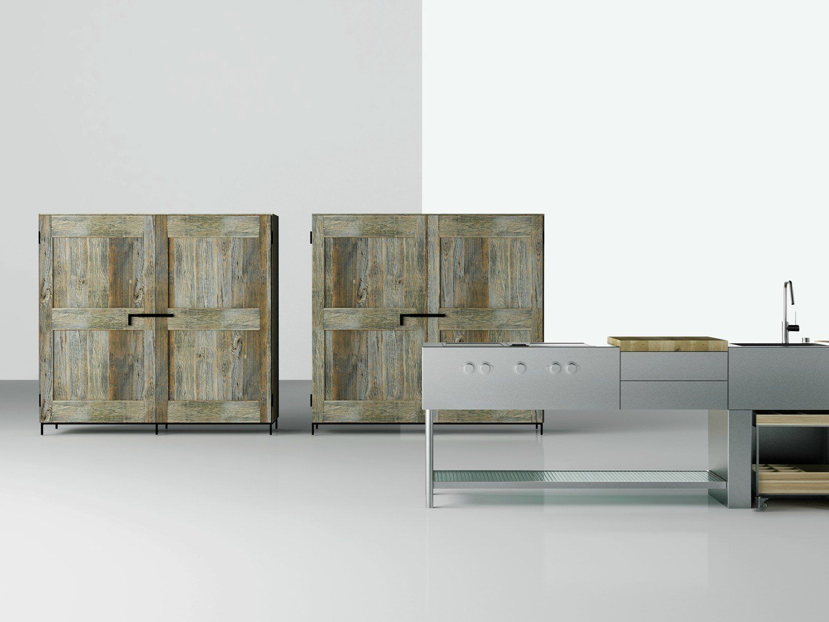 boffi al bologna water design con la cucina open - Boffi Cucina