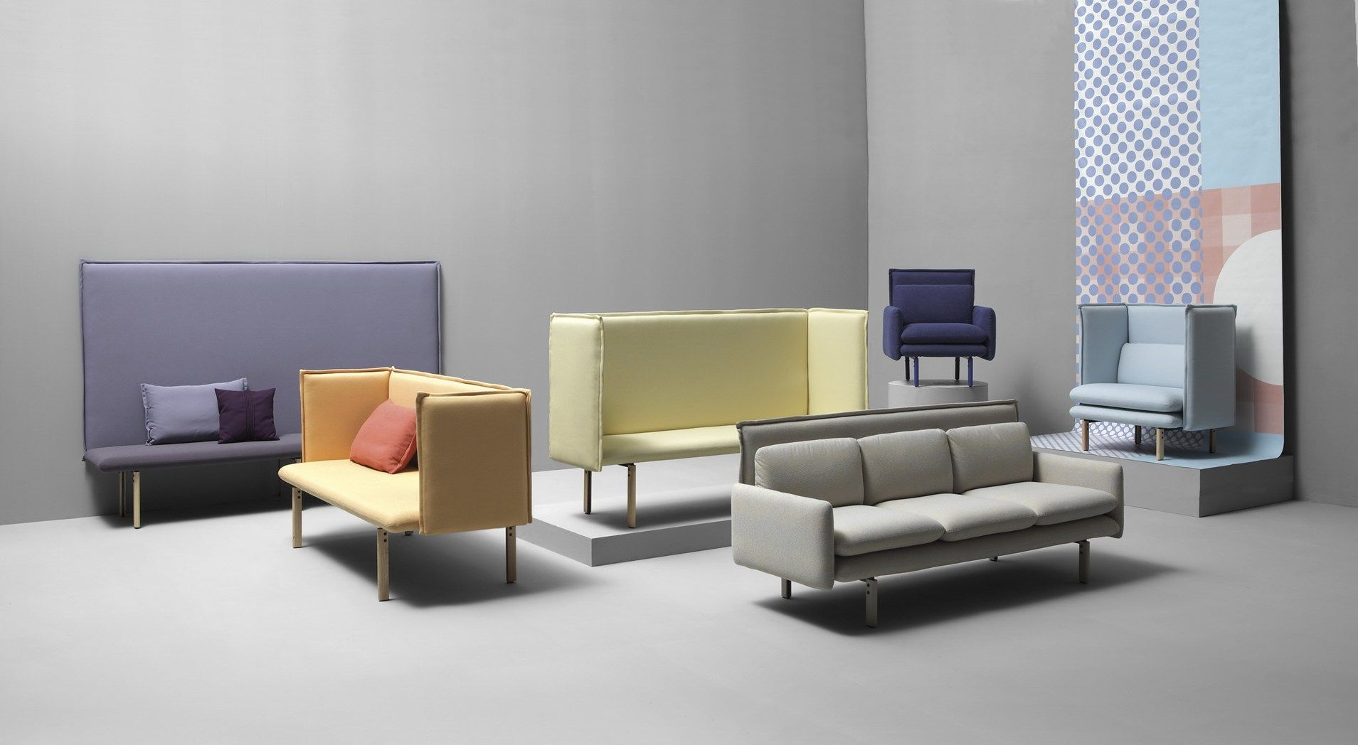 Furnitures And Graphic Design Join Together To Interpret