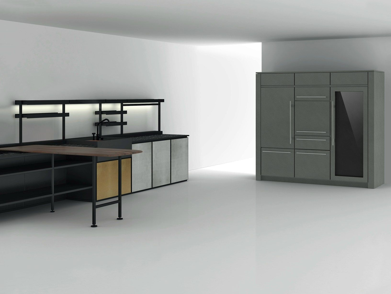 boffi k ln presents the latest kitchen bathroom and. Black Bedroom Furniture Sets. Home Design Ideas