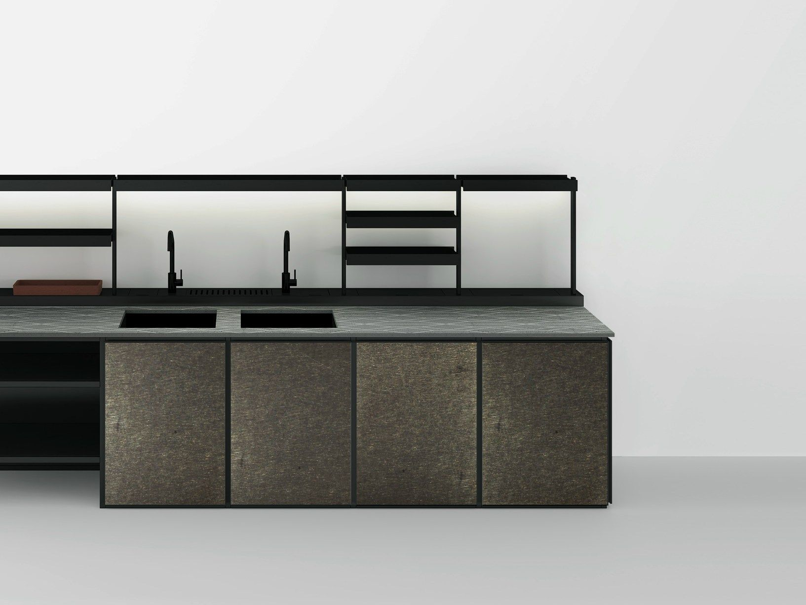 boffi k ln presents the latest kitchen bathroom and. Black Bedroom Furniture Sets. Home Design Ideas