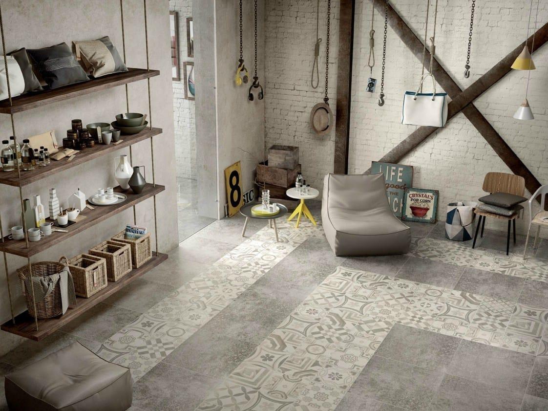 Il fascino delle tradizionali piastrelle in cemento for Idee di pavimento di mudroom