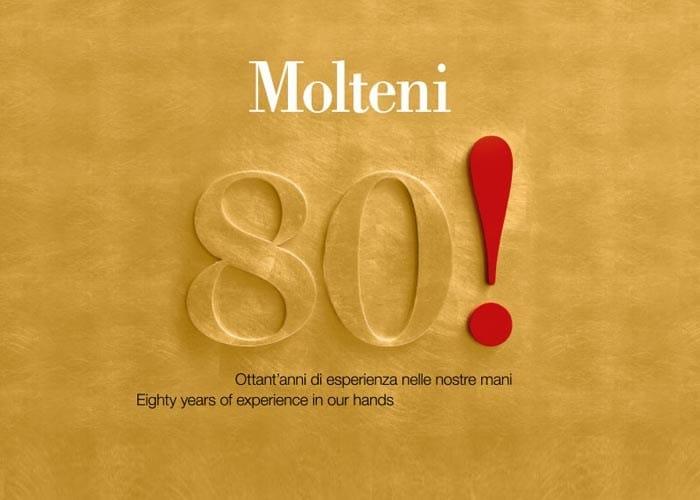 80!molteni: un percorso dedicato alle icone del design italiano