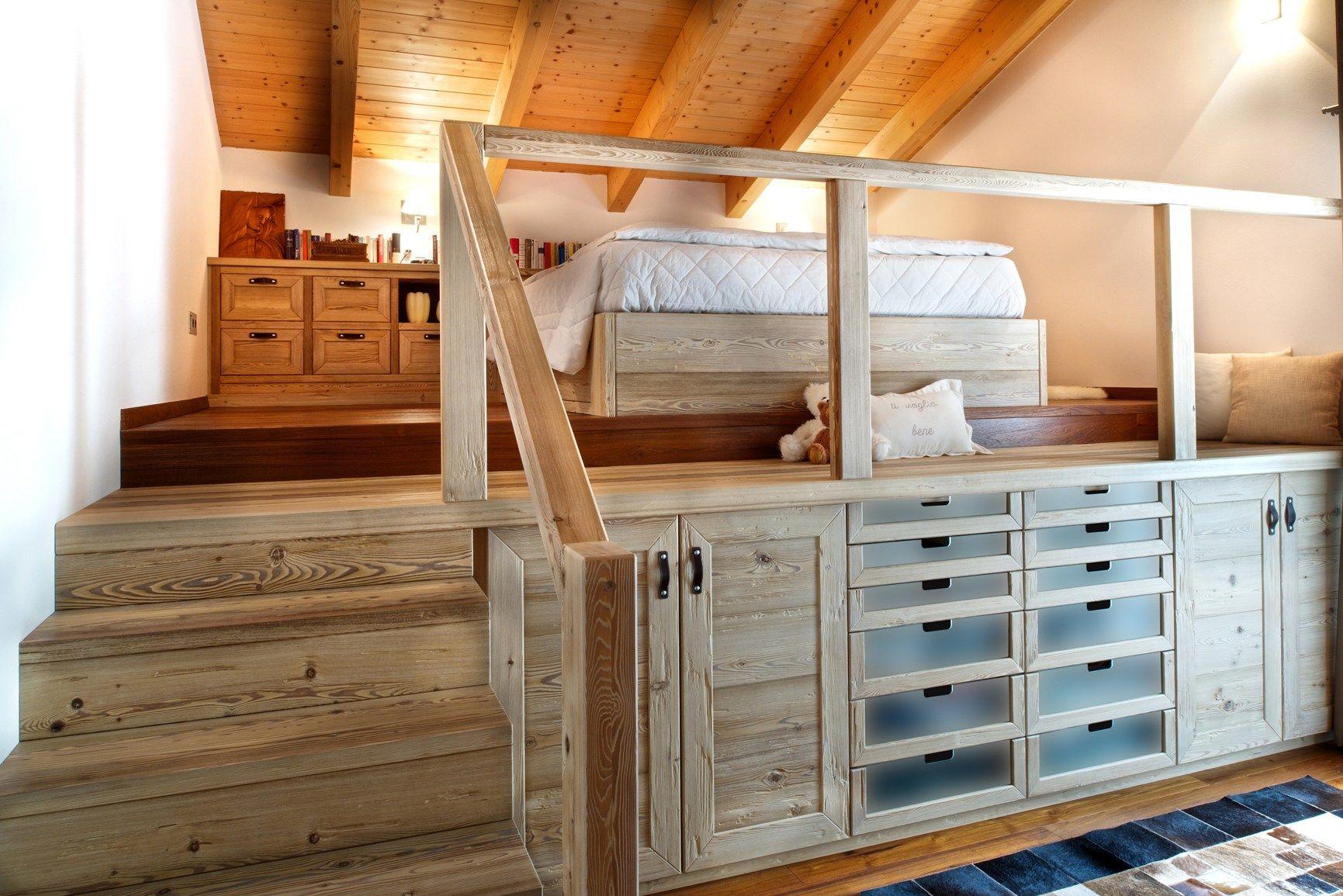 Mansarde come sfruttare al meglio gli spazi - Camerette bambini legno naturale ...