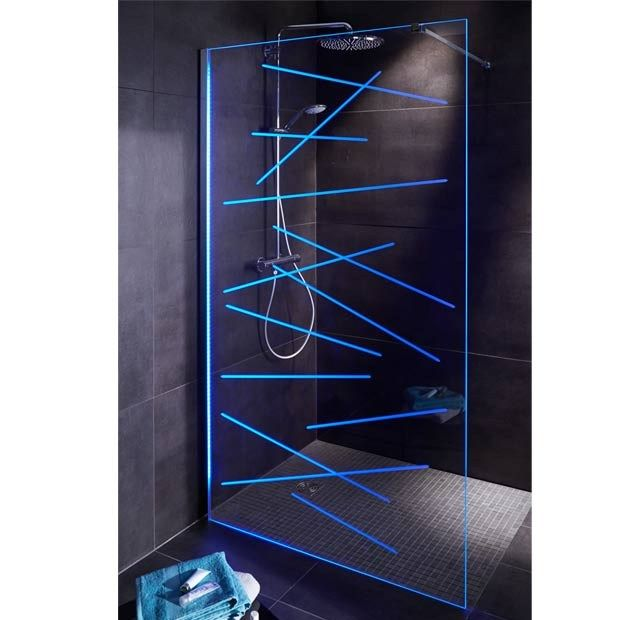 vegas la nouvelle paroi de douche clairant en led. Black Bedroom Furniture Sets. Home Design Ideas
