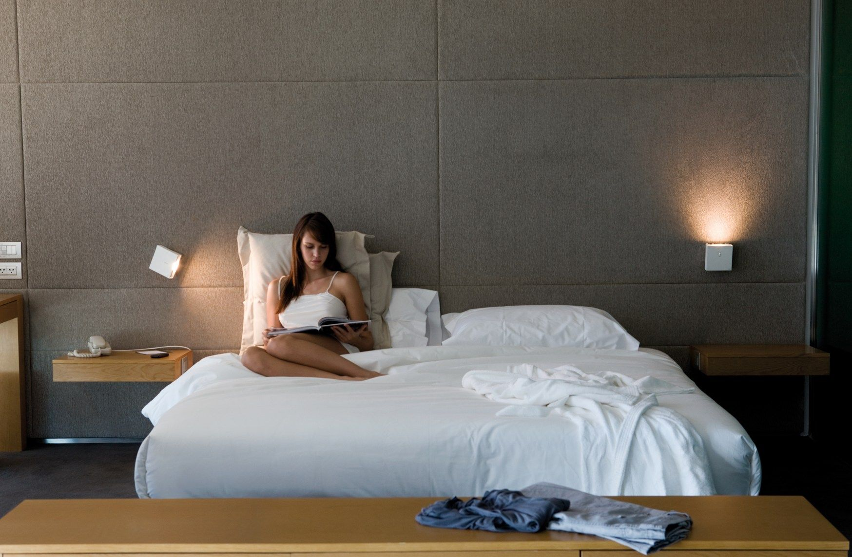 Éclairage de chambre à coucher: création d'ambiances avec Vibia