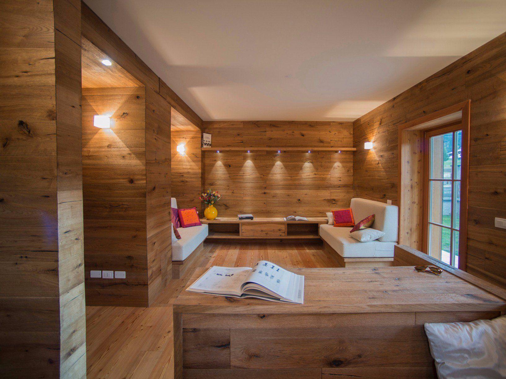 Faretti Travi Legno: Faretti su travi legno case simili appartamento soggiorn...
