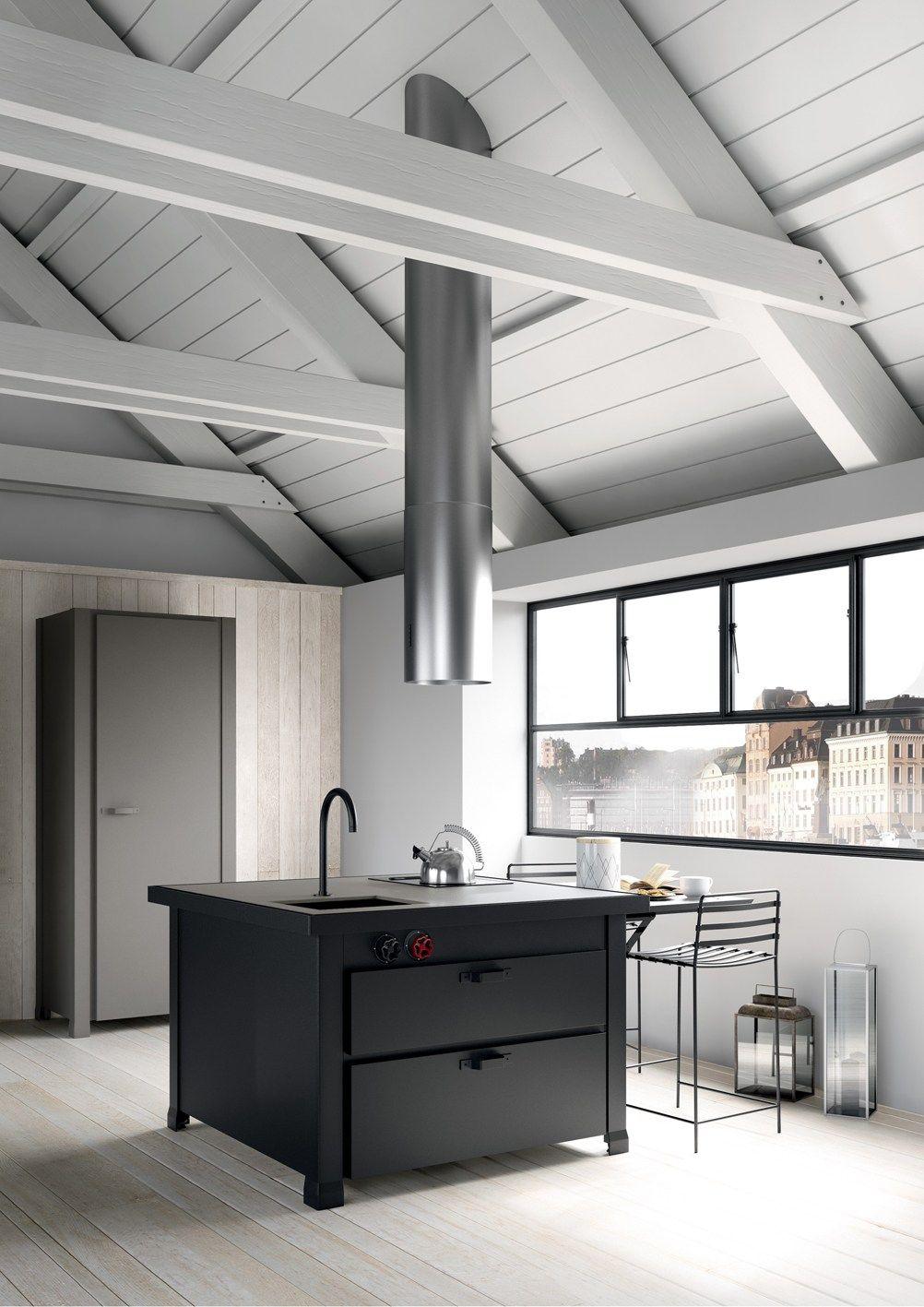 Illuminazione mansarda moderna ristrutturare un rustico e - Illuminazione sottotetto legno ...
