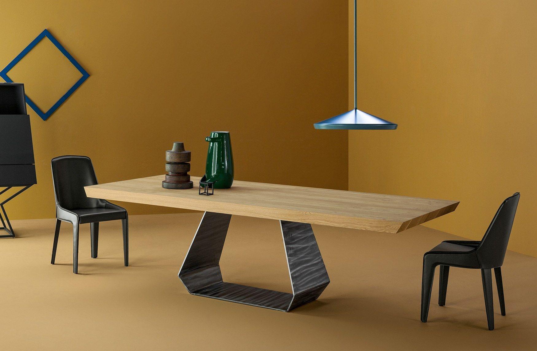 Mood giapponese e richiami all 39 oriente bonaldo al salone for Tavoli moderni in legno