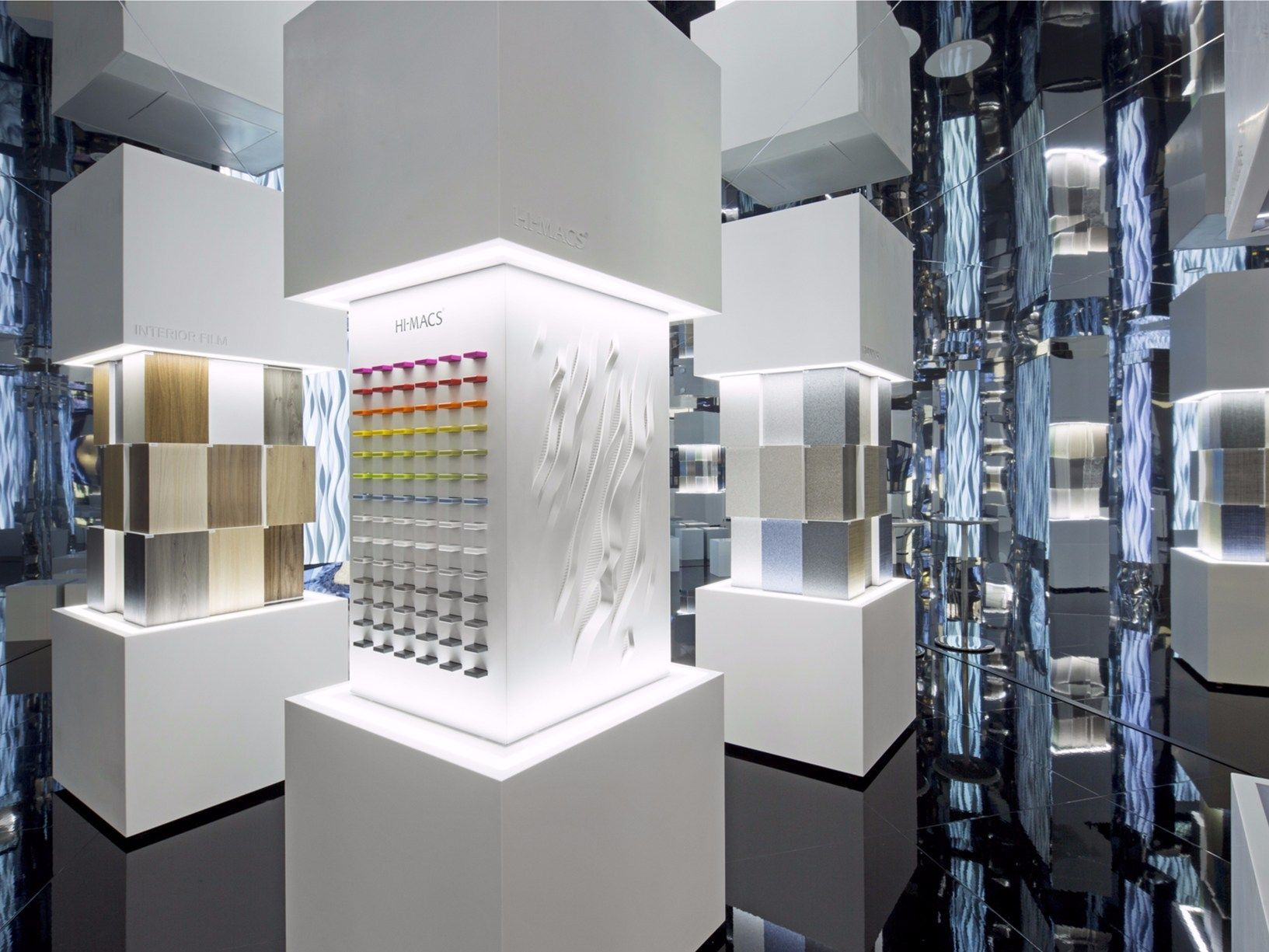 Solid surface on show at Milan Design Week