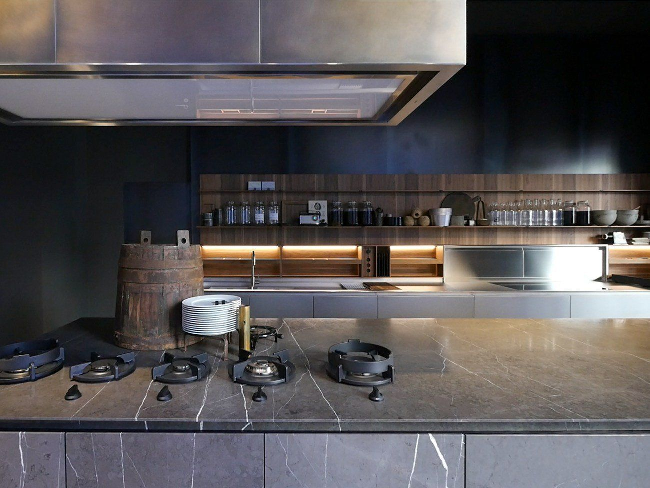 Code, the new, totally customized product by Piero Lissoni for Boffi Kitchen