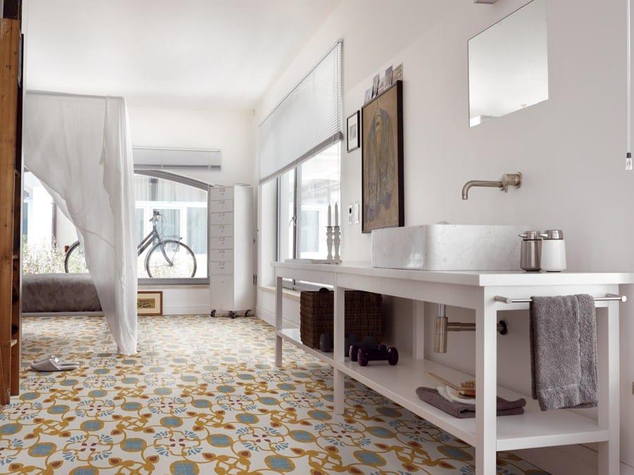 Alla riscoperta della graniglia di marmo for Pavimenti in graniglia e arredamento moderno