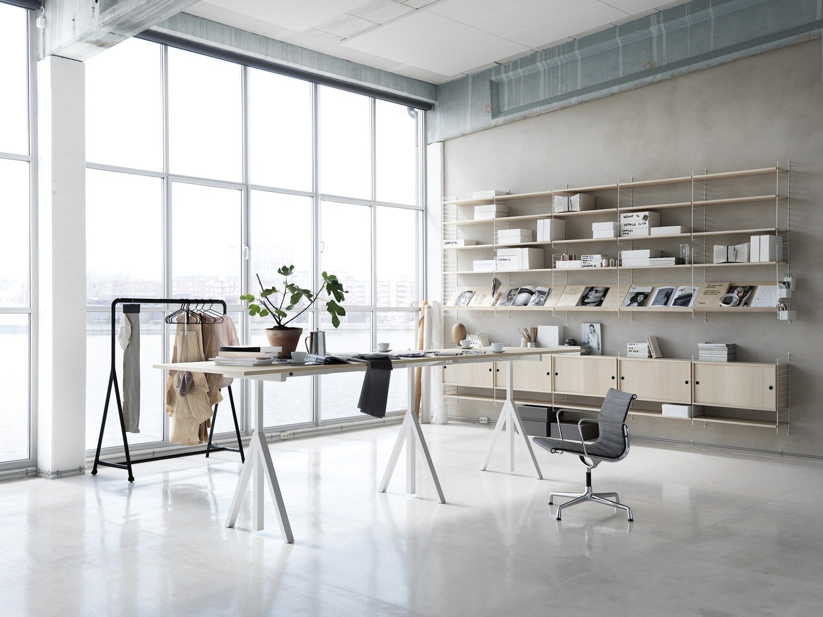 Swedish design for the office for Office design works