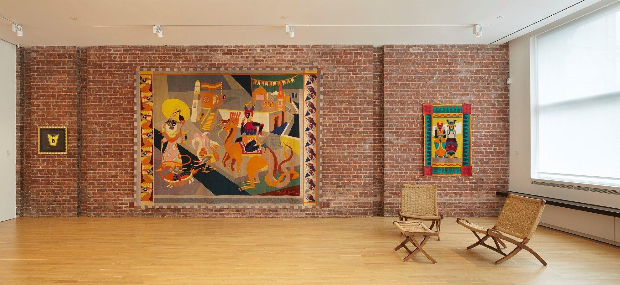 Lualdi come un quadro nella galleria CIMA di NY