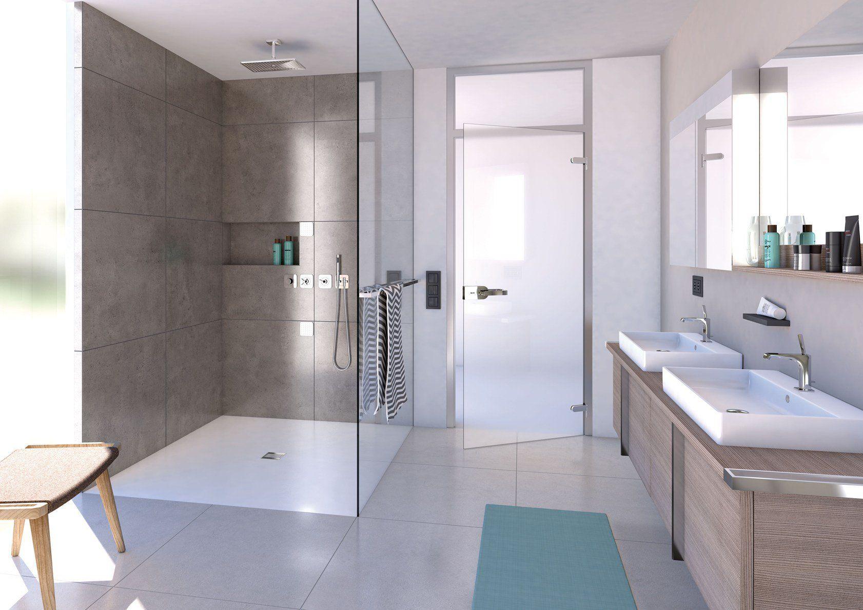 Al made il rivestimento per doccia filo pavimento wedi - Ambientazioni bagni design ...