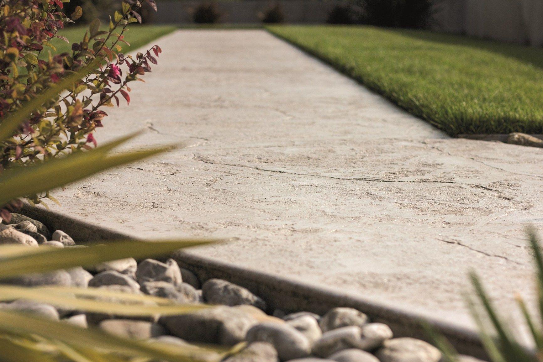 Pavimento stampato effetto naturale posa rapida - Pavimento effetto bagnato ...