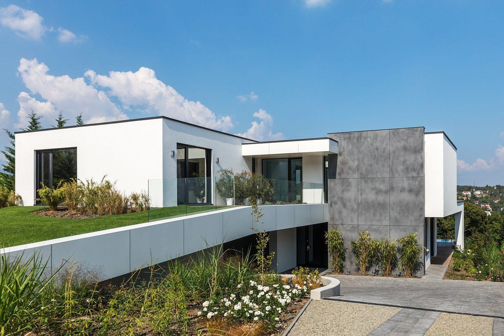 Trasparenza cemento a vista - Ingressi case moderne ...
