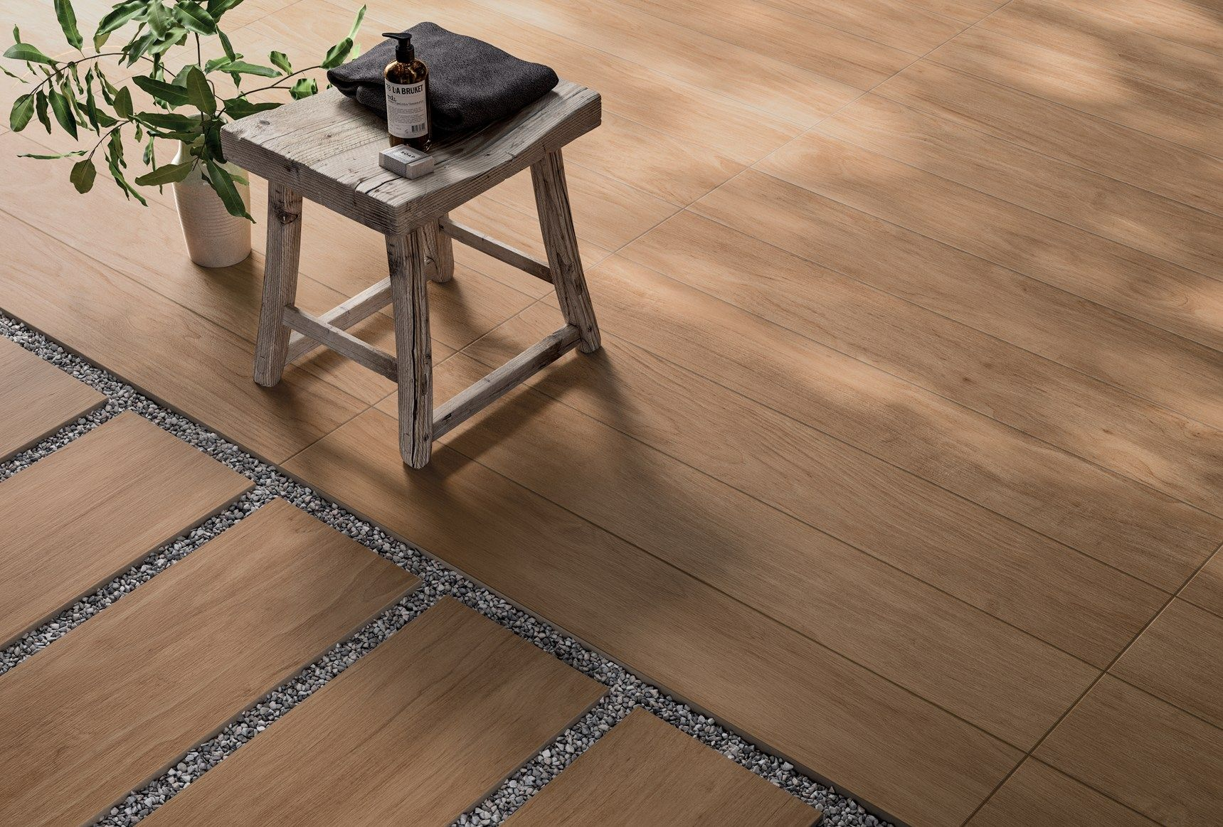Panaria ceramica presents the new chic wood series - Suelos imitacion madera exterior ...