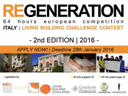 REGENERATION 2a edizione_64 hours european competition