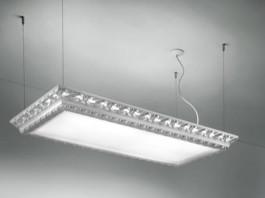 Masiero: lampade preziose e polimateriche