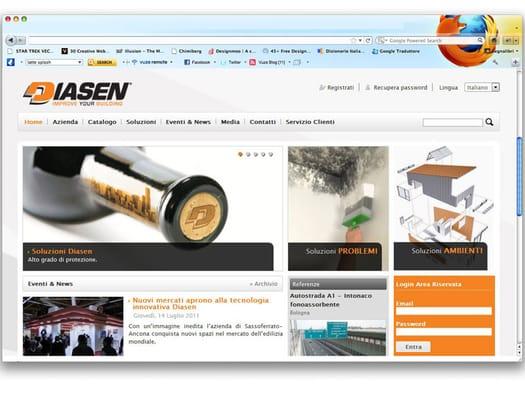 È online il nuovo portale Diasen