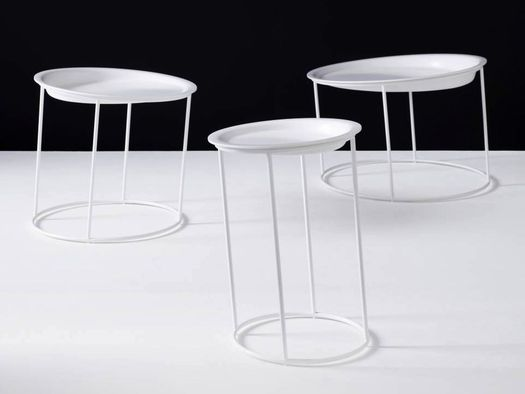 "HI-MACS® Defies the Laws of Gravity with ""Dizzy"" Tables"