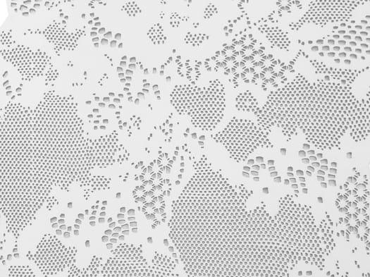 Rivestimenti tridimensionali ispirati alle trame dei tessuti