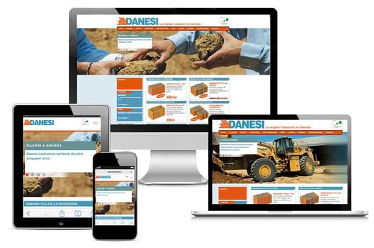 Danesi Laterizi lancia il suo nuovo sito web