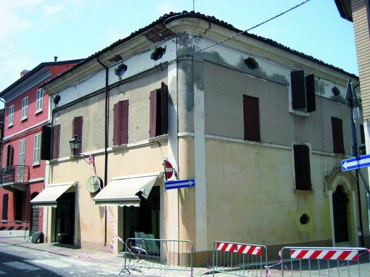 Fornaci Laterizi Danesi per la ristrutturazione di un edificio colpito dal sisma del 2012 a Reggiolo