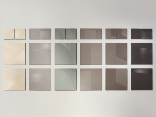 Cemento 'soft', colori e geometrie ispirate all'arte contemporanea