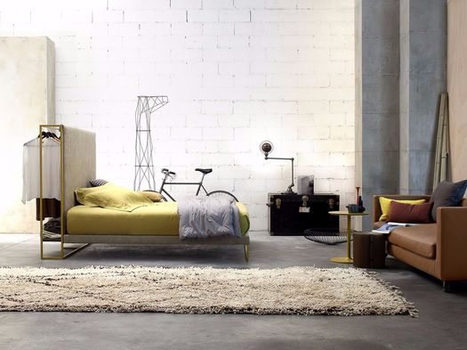 Upholstered sartorial beds and furniture by Twils