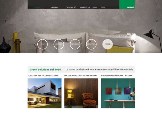 Oikos presenta il nuovo sito internet