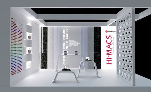 LG Hausys presents HI-MACS® limitless design possibilities at Retail Design Expo