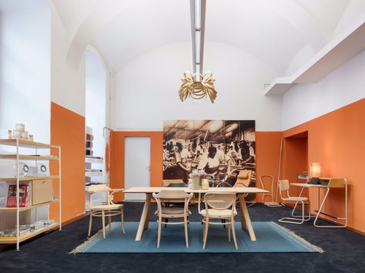 Thonet first pop-up café in the heart of Vienna