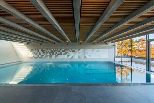 Tynningö Pool House, natural indoor harmony