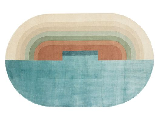 A rug inspired by Venetian canals