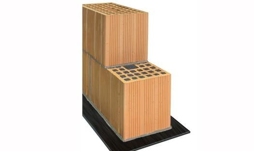 Normablok Più Taglio Termico, il blocco in laterizio ideale per la risoluzione dei ponti termici con tutta la qualità dei Laterizi Danesi