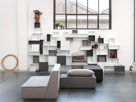 Cubit: modular furniture system with endless design possibilities