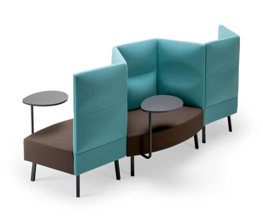 Lounge seating system CUMULUS by Sedes Regia