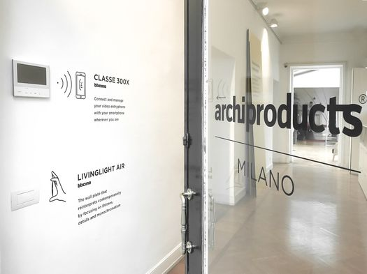 Archiproducts Milano + Bticino