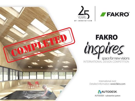 I vincitori del concorso 'FAKRO Inspires – Space for New Visions' 2016
