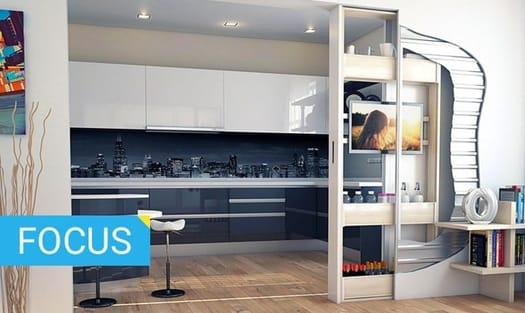 10 soluzioni salvaspazio per chi ristruttura casa - Soluzioni salvaspazio bagno ...