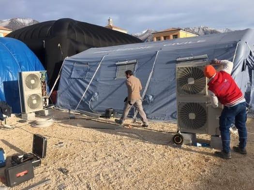 Daikin per Amatrice: spirito di squadra per aiutare gli abitanti del Centro Italia