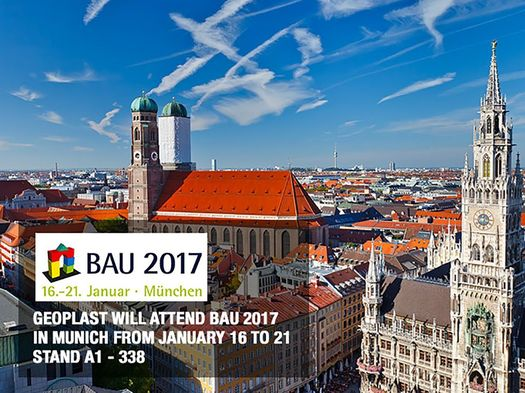 Geoplast at Bau 2017