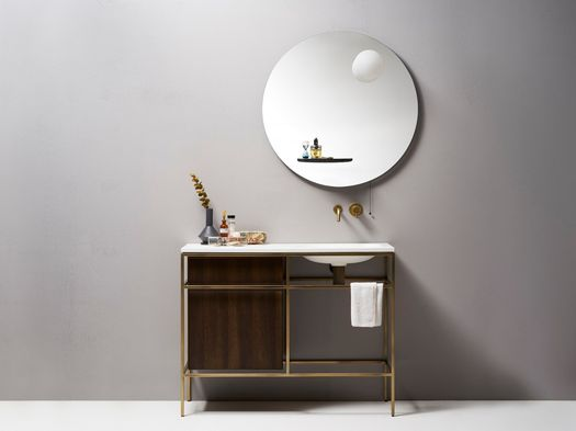 Bathroom furniture inspired by the home design world