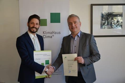 Si rinnova la partnership tra ALPAC e CASACLIMA