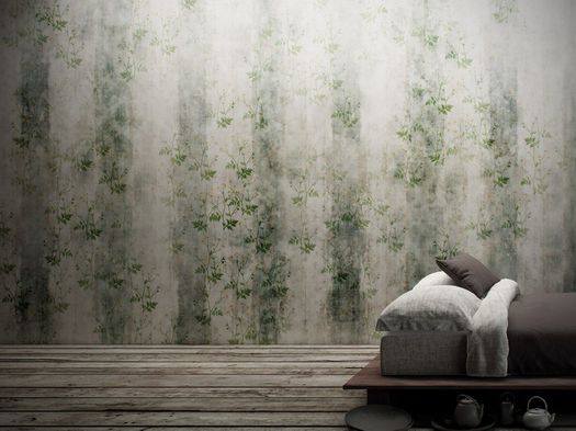 Wallpaper improves acoustic comfort