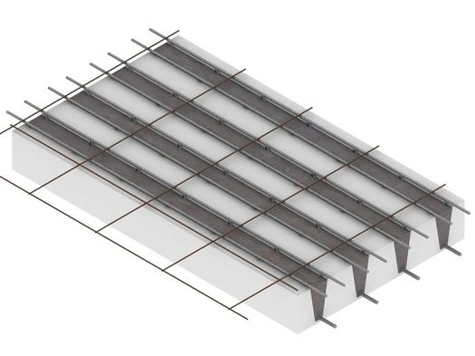 Airfloor™: build slim floors with the lightest self-supporting slab in the market