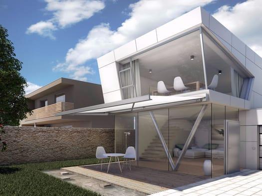 Hella presenta la pergola bioclimatica Ventur e la protezione solare verticale PAN 7040