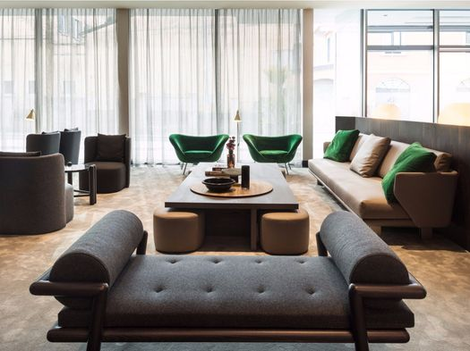Molteni&C furnishes VIU Hotel in Milan