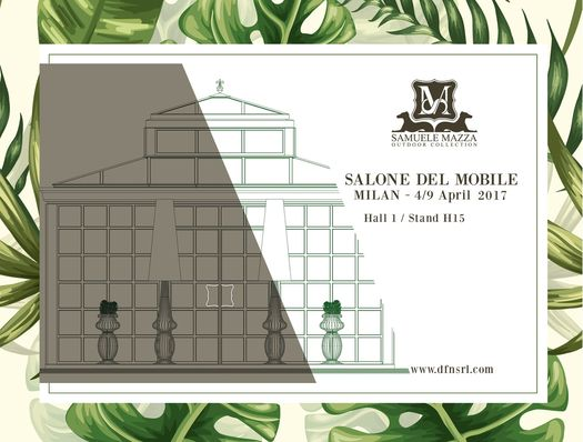 Glamour and timeless: Samuele Mazza Outdoor Collection at Salone del Mobile